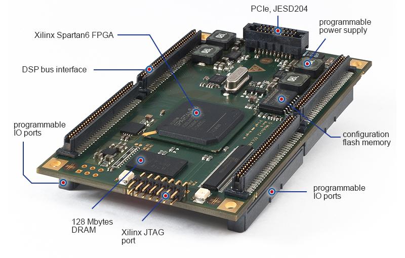 D Module2 6SLX45T - Xilinx Spartan-6 FPGA XC6SLX45T - D SignT